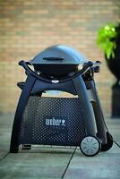 Weber 6525 Rolling Q Cart for Q2000 Series BBQ Grill