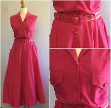Vêtements vintage coton mélangé pour femme, pour tous les jours