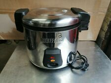 More details for no213  buffalo j300 rice cooker  6l dry rice