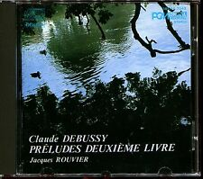 CLAUDE DEBUSSY / JACQUES ROUVIER - PRELUDES DEUXIEME LIVRE - CD ALBUM [518]