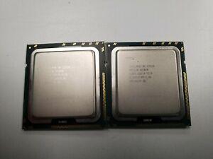 MATCHED PAIR INTEL XEON E5520 SLBFD 2.26GHZ PROCESSOR CPU LGA1366  #3