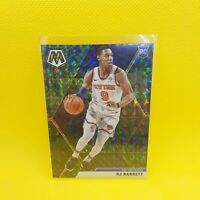 RJ Barrett Peacock Mosaic Prizm Rookie - VINYL STICKER - NBA Knicks RC