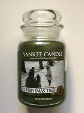 Yankee Candle CHRISTMAS TREE 22 oz LARGE JAR FAVORITE HOLIDAY SCENT