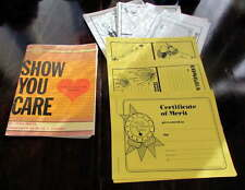 TEACHER RESOURCE BOOK~'Show You Care/A Memo for Every Moment'~PLUS FREE GIFT!!