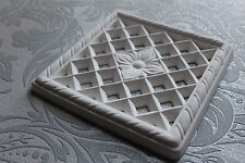 Plaster Airvent Cover 220mm X 220mm Victorian Design
