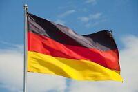 Germany Flag Large 5ft x 3ft German Deutschland National Sports Football Flag