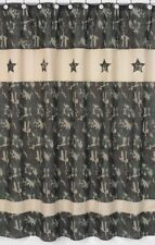 CAMO GREEN ARMY MILITARY BOYS KID BATH FABRIC SHOWER CURTAIN SWEET JOJO DESIGNS