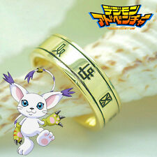 Digital Monster Digimon Tailmon Holy Ring Pendant Cosplay Necklace
