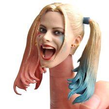 1/6 Female Joker Head Carving Head Model F 12'' Female Figure Body