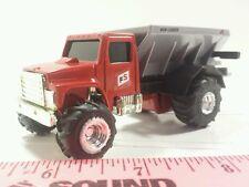 1/64 ERTL custom farm toy red fs farm services fertilizer float spreader truck