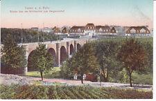 Essen an der Ruhr Brücke über das Mühlbachtal zum Margaretenhof AK K3125