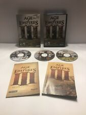 Age of Empires III 3 PC CD-ROM Complete CIB With Slip Cover