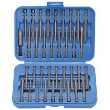 "36 Pc 3 In Screwdriver Bit Set Tamper-proof 1/4"" Hex Shank with Case Hex,Torx"