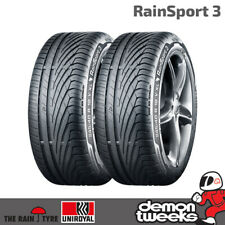 2 x Uniroyal RainSport 3 Wet Weather Tyres 225 40 R18 92W XL Run Flat (2254018)