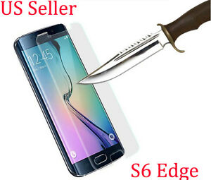9H ULTRA CLEAR TEMPER GLASS SCREEN PROTECTOR FOR SAMSUNG GALAXY S6 Edge