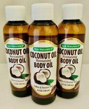 Spa Naturals Coconut Moisturizing Body Oil, Bonus 1-Pack! 4.5oz~~~~