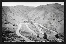 #58 RPPC Denver, The Double Hairpin Lookout Mt. Highway, Sanborn P-940 Unused