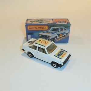 Matchbox Superfast  9 Ford Escort RS2000 good condition with box