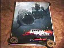 SHARK NIGHT 3D ROLLED 27X40 MOVIE POSTER DS