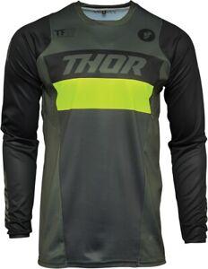 Thor MX Pulse Racer / Tropix Jersey Motocross ATV Dirt Bike Men's Riding Shirt