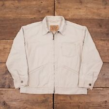 "Mens Vintage Levis Lightweight Denim Harrington Workwear Jacket XL 48-50"" R3699"
