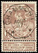 Scott # 81 - 1897 - ' St. Michael & Satan '