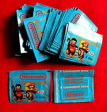 NINTENDO WONDERFUL WORLD NEW SEALED 50 PACKS + EMPTY ALBUM PANINI'S PARTNER