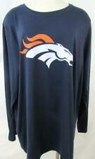 Denver Broncos Womens Plus Size 2X Long Sleeve Broncos Logo T-Shirt ADEB 79