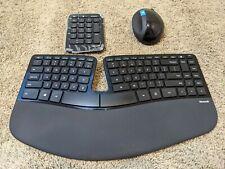 Microsoft Sculpt Ergonomic Desktop Wireless USB Keyboard Mouse Combo (L5V-00001)