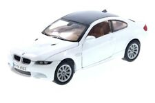BMW M3 E92 COUPE 1:24 DIECAST MODEL CAR BY MOTORMAX 73347 White