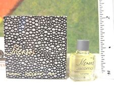 VINTAGE SILENCES BY JACOMO Parfum de Toilette 0.08 OZ / 2.5 ML MINIATURE