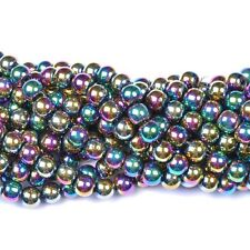 Ball BLACK No MAGNETIC HEMATITE Spacer BEADS 4MM 6MM 8MM 10MM 12MM
