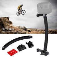 PULUZ Helmet Action Camera Mount Selfie Stick Extension Arm for Gopro Accessory