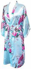 KIMONO lingerie MANY COLOURS Peacock PREMIUM dressing gown robe Bridesmaid Japan