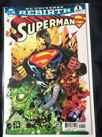 Superman DC Universe Rebirth #1 1st Print 2016 NM