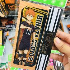 Haikyuu!! Plastic Bookmark Set of 2 Hinata Shoyo Kageyama Tobio