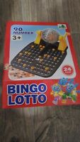 Juego Bingo lotto 90 numeros y 24 cartones