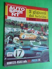 AUTOSPRINT 1971/16 Jacky Ickx Jackie Stewart Alfa 333 Monza