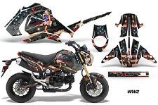 Honda Graphic Kit AMR Racing Bike Decal Grom 125 Decal MX Parts 2013-2016 WW2