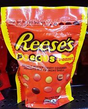 Reese's Pieces PEANUT Peanut Butter Candy Covered Peanuts in Shell Candy 8 oz