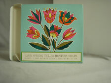 Vintage Avon Spring Tulips Set of 6 Hostess Soaps NIB
