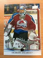 2019-2020 PATRICK ROY 30 YEARS OF UPPERDECK CARD UD30-19 COLORADO AVALANCHE