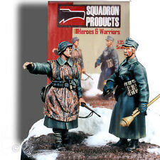 Squadron'S Heroes And Warriors 1/35 Bulge Vignette Base & 2 Resin Figures 35513