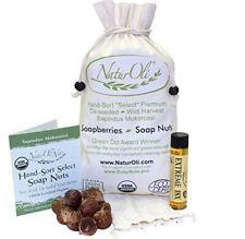 NaturOli Soap Nuts 1-Lb USDA Organic (240 Loads) + 18X Bonus! (12 loads)