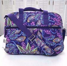 Vera Bradley Medium Traveler Weekend Bag Batik Leaves NWT