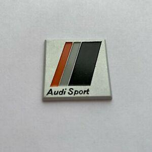 Audi SPORT 80 90 s2 rs2 urquattro ur-quattro STEERING WHEEL Original metal LOGO