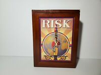 Risk Board Game Vintage Collection Wooden Book Box Hasbro Special Edition 2012
