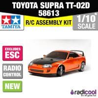 58613 TAMIYA TOYOTA SUPRA DRIFT SPEC TT-02D 1/10TH R/C KIT RADIO CONTROL