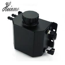 Universal 1000ml Alloy Aluminium Oil Catch Can Reservoir Tank with Drain Plug 1L