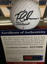 Tom Lehman SIGNED 2016 RYDER CUP Hazeltine Logo Titleist Golf Ball PSA COA